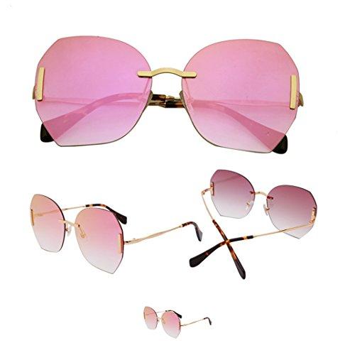 De Lunettes Sans amp;lunettes Soleil couleur Coupe Mode B Cadre amp; Lym Uv A Protection x999 gFIqE