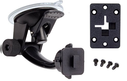 ChargerCity Windshield Suction Mount for Sirius XM Onyx EZR EZ Plus Lynx Satellite Radio w/Single T (XM) Delphi Skiff and AMPS Pattern (SiriusXM) Compatible