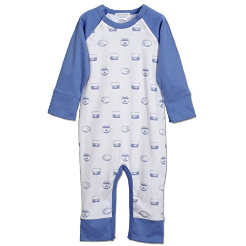 Sailor Outfit Ideas (Feather Baby Boys Clothes Pima Cotton Long Sailor Sleeve Jumpsuit Coverall One-Piece Romper)