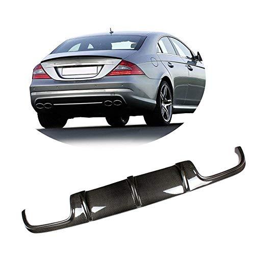 MCARCAR KIT For Mercedes Benz W219 CLS63 AMG 2006-2010 Customized CNC Moulding Carbon Fiber Rear Bumper Diffuser Lip Spoiler