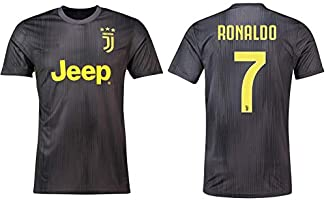 low priced e8f1d c3324 Cristiano Ronaldo Juventus #7 Youth Soccer Jersey Away Short ...