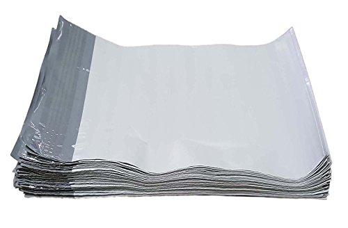 iMBAPrice 100 - 10x13 Premium Matte Finish Self-Sealing Non-Padded White Poly Mailers/Mailing Envelopes/Bags (iMBA-4PM-100)