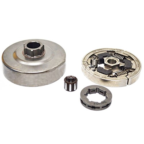 Podoy MS360 Chainsaw Clutch for STIHL 036 MS360 034 Parts Drum with Bearing 3/8