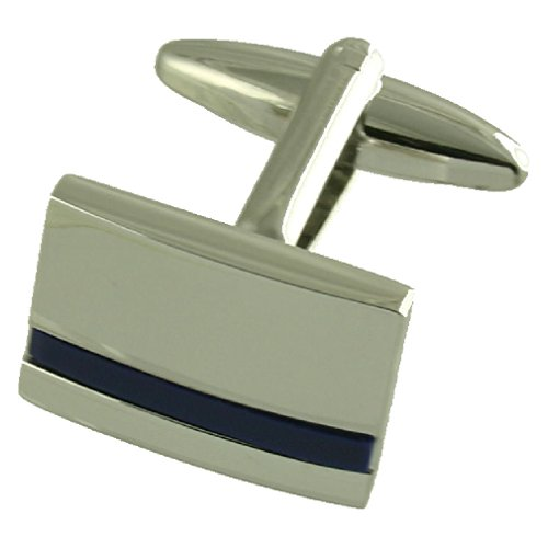 Blue Lapis Silver Cufflinks with Select Gift Pouch