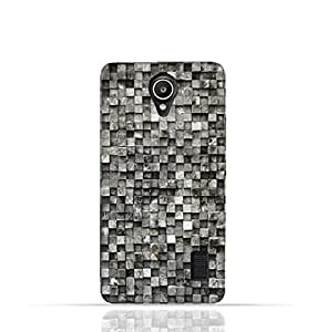 Hauwei Y635 TPU Silicone Case with Old Cube Black Wood Texture