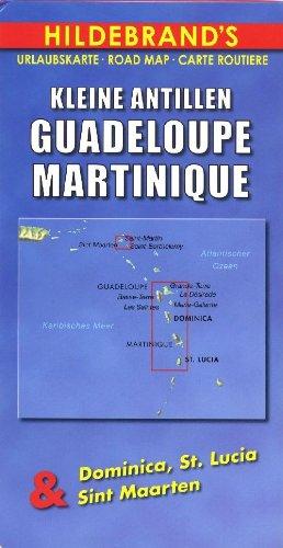 The Caribbean (Hildebrand Travel Map)