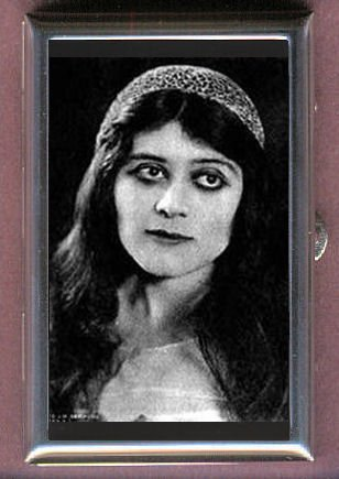Amazon Theda Bara Diva Vamp Silent Film Guitar Pick Or Pill Box