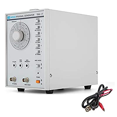 VEVOR TSG-17 High Frequency Signal Generator RF 100KHz-150MHz Signal Generator Counter Arbitrary Waveform Frequency Meter 110V