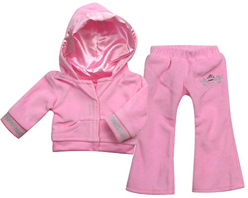 - Sophia's Doll Clothing for 18 Inch Doll Clothes Outfit Play Set of Sweatsuit with Crown Details, 2 Pc. Set Fits American Girl Dolls & More! Stylish Doll Sweatsuit, My Doll's Life