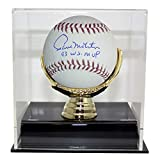 Paul Molitor Autographed Signed Official Major League Baseball 93 WS MVP Minnesota Twins With Deluxe Baseball Display Case