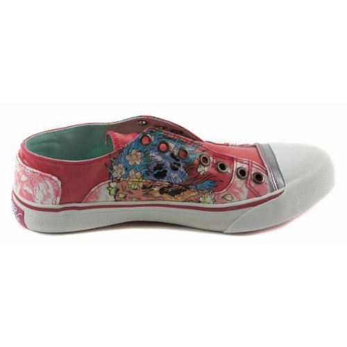 Ed Hardy Jamsey Hot Pink sneakers