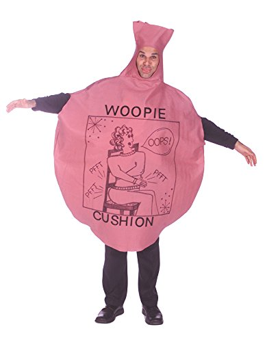 Whoopie Cushion Halloween Costume (UHC Men's Whoopie Cushion Funny Theme Party Adult Halloween Costume, OS)