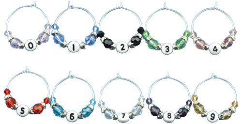 Potomac Banks Acrylic Charms Numbers product image