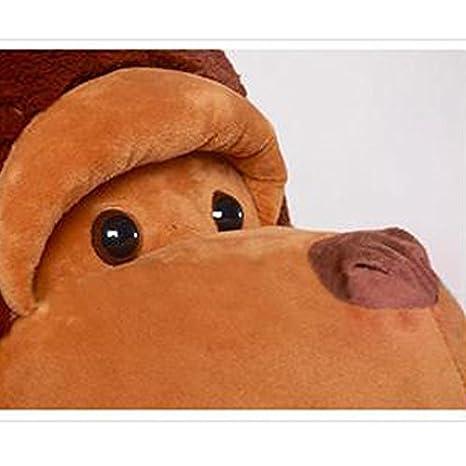 Juguetes gigantes de peluche de mono para niñas y niños, 130 cm: Amazon.es: Hogar