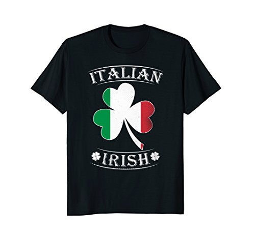 Italian Irish Shirt Flag of Italy