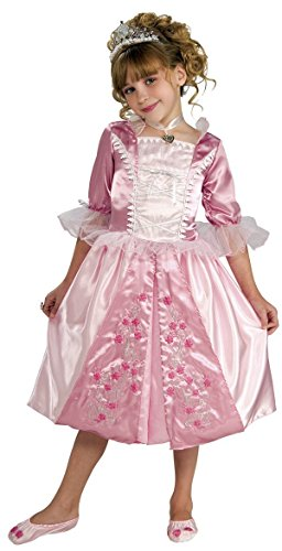 Rosebud Princess Costume, Small