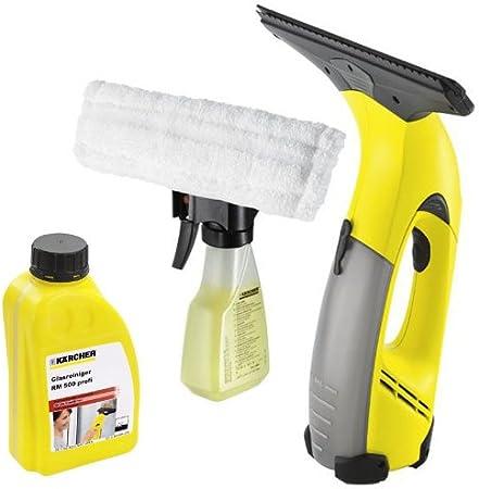 Kärcher WV 50 – Aspirador limpiador de ventanas (incluye producto limpiador RM 500 ml: Amazon.es: Bricolaje y herramientas