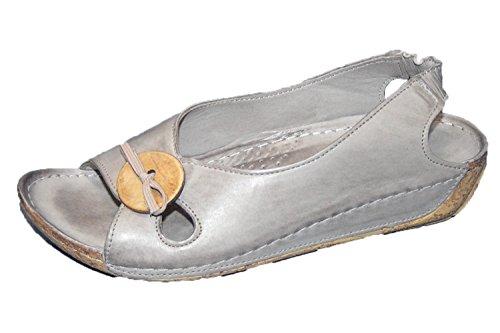 Gemini Sandaals Grijze Vrouwen Schoenen 32030