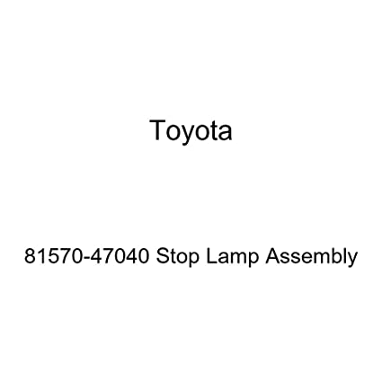 Genuine Toyota 81570-47040 Stop Lamp Assembly