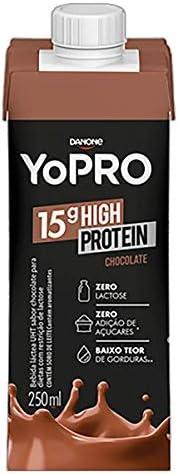 Bebida Lactea com 15g de proteína Chocolate YoPRO 250ml