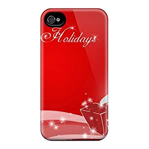 New Fashionable Holety TcA1701fCve Cover Case Specially Made For Iphone 6 (happy Christmas Holidays)