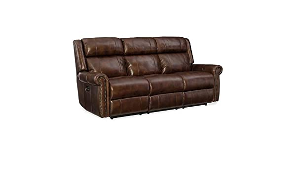 Amazon.com: Hooker Furniture Esme Leather Power Motion Sofa ...