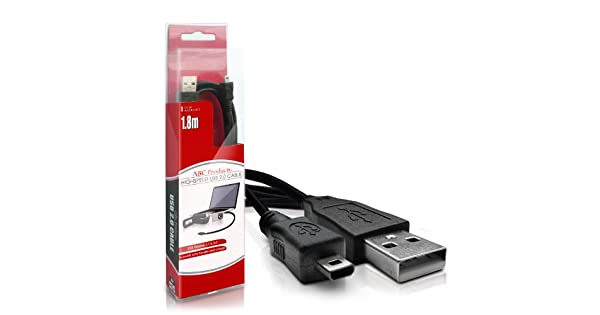 Cable USB para Panasonic Lumix DMC ft3 cable de datos cable data