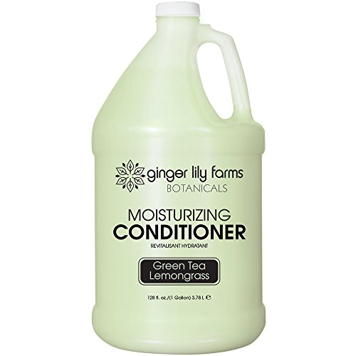 Ginger Lily Farms Botanicals Conditioner Gallon, Green Tea and Lemongrass, 128 Fluid Ounce