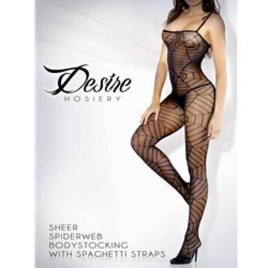 Fantasy-Lingerie-Desire-Spider-Web-Spaghetti-Strap-Body-Stocking-One-Size-Black