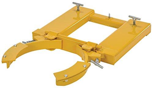 Vestil DGS-A-PSD Drum Grabber, 1500 lb., 24'' x 31'' x 8'', Yellow by Vestil