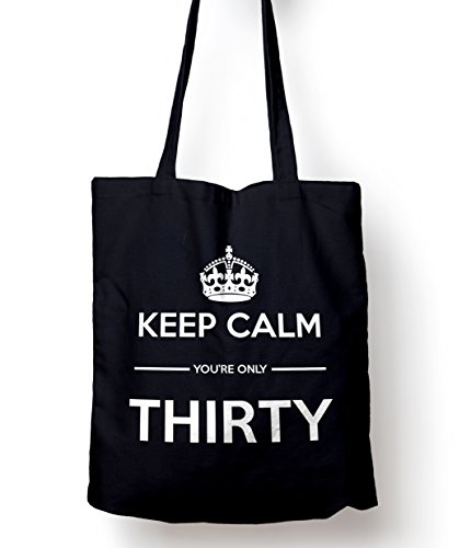 Keep Navy Tote You're Calm Only Bag 30 Shopping Gift UU4qrpn