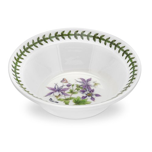 Portmeirion Exotic Botanic Garden Oatmeal/Soup Bowl, 6.5-Inch, Set of 6
