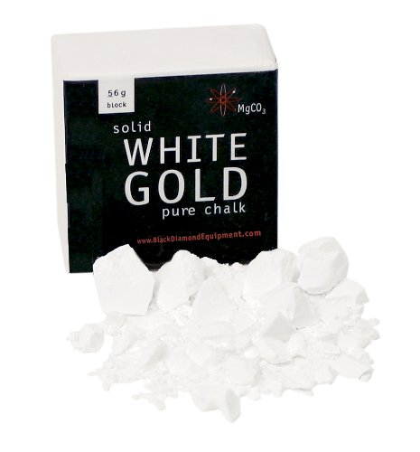 Black Diamond 56g Chalk Block, 56g, White