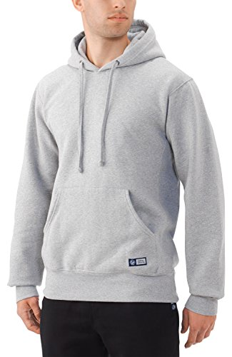 Russell Athletic Men's Pro10 Fleece Pullover Hood, Oxford, Large