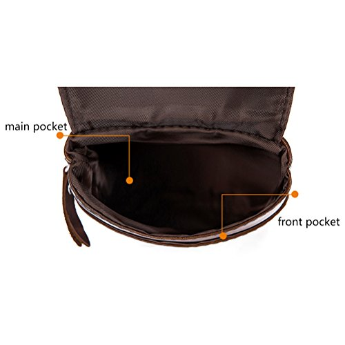 mujeres Christmas Mens Zhhlaixing Mini negro las Bag Bag Backpack De Shoulder Womens Halloween Body Waist Slim Cycling Cross IZwSZ