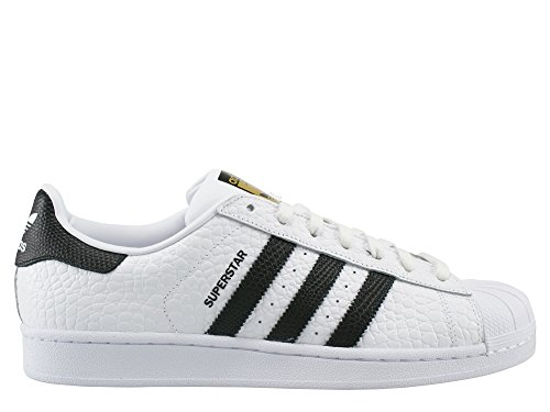 adidas Superstar Animal, Scarpe da Basket Uomo Bianco