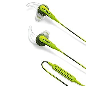 Bose SoundSport inner-ear headphones for Sports iPhone · iPod · iPad with corresponding remote control microphone Energy Green SoundSport IE IP EGR genuine national