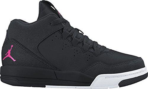 Jordan Girl's Flight Origin 2 Basketball Shoe (PS) Black/Hyper Pink-White 12C by Jordan