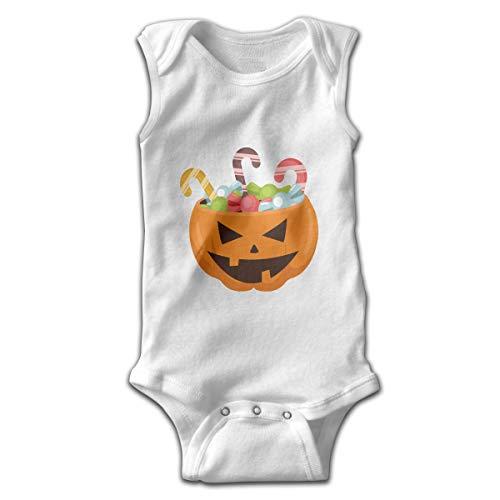 Efbj Toddler Baby Boy's Rompers Sleeveless Cotton Onesie,Halloween