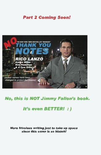 No Thank You Notes pdf