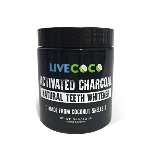 photo Wallpaper of LiveCoco-LiveCoco LIMITED TIME Activated Charcoal 2.8oz=Around 300 Uses (Made-