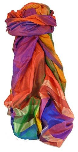 Varanasi Ekal 100% Foulard de Soie Das 1 Gamme Heritage par Pashmina & Silk