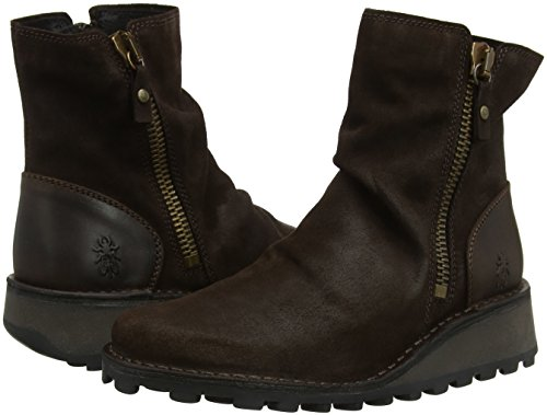 Fly Brown expresso Marrone Mong944fly Donna 012 dk London Chelsea Stivali Twr8TqA