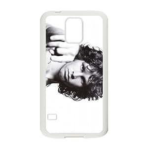 Jim-Morrison Samsung Galaxy S5 Cell Phone Case White Q6969771