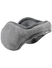 180s Women's Lush Ear Warmers, Frost Grey, One Size
