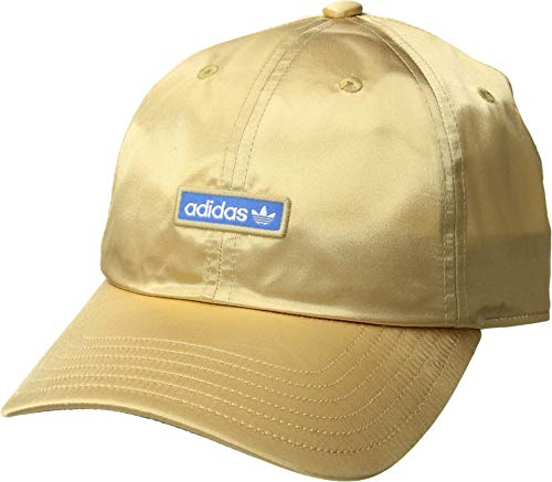 (adidas Originals Women's Originals Relaxed Metal Strapback Raw Gold/True Blue/Active Purple One Size)