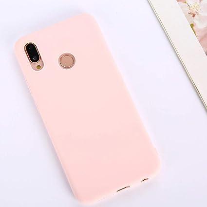 Amazon.com: Funda de silicona para Huawei P9 P8 Lite 2019 ...