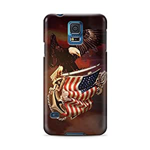 BESTER American Eagle Flag USA Samsung Galaxy S5 Hard Case Cover