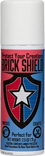BrickShield Plastic Brick Glue Spray - Temporary Glue for Bricks, Blocks, and More. Non-Toxic! Made in USA!