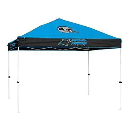 Carolina Panthers NFL First-Upu0026quot; 10u0027x10u0027 Straight Leg Canopy ...  sc 1 st  Amazon.com & Amazon.com : Carolina Panthers NFL First-Up